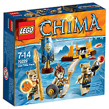 Buy LEGO Legends of Chima Lion Tribe Pack Online at johnlewis.com