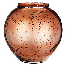 Buy John Lewis Copper Glass Bowl, Large Online at johnlewis.com