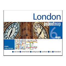 Buy Compass Maps Ltd. London 6 Pop Out Maps Online at johnlewis.com