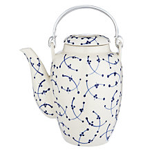 Buy John Lewis Blue and White Teapot Online at johnlewis.com