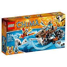 Buy LEGO Legends of Chima Strainor's Saber Cycle Online at johnlewis.com