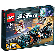 Buy LEGO Ultra Agents Invizable Gold Getaway Online at johnlewis.com