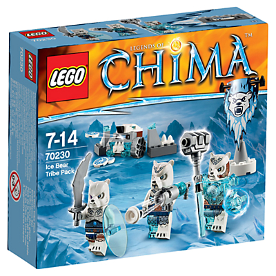 LEGO Legends of Chima Ice Bear Tribe Pack
