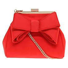 Buy Miss KG Tara Suedette Bow Detail Small Shoulder Bag Online at johnlewis.com