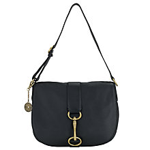 Buy DKNY Crosby Leash Across Body Bag, Black Online at johnlewis.com