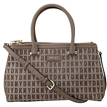 Buy DKNY HQ Bryant Medium Shopper Bag, Chino Online at johnlewis.com