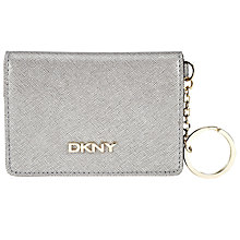Buy DKNY Bryant Park Saffiano Leather Card Holder Online at johnlewis.com