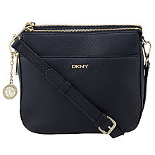 Buy DKNY Tribeca Across Body Bag, Navy Online at johnlewis.com