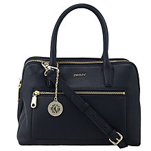 Buy DKNY Tribeca Leather Satchel Bag Online at johnlewis.com