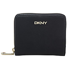 Buy DKNY Bryant Park Saffiano Leather Carry All Purse, Black Online at johnlewis.com