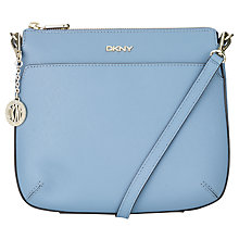Buy DKNY Bryant Top Zip Leather Across Body Bag Online at johnlewis.com