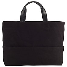 Buy Kin by John Lewis Bronte Oversized Tote Bag, Black Online at johnlewis.com