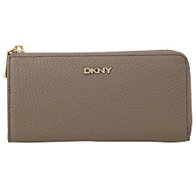 Buy DKNY Tribeca Large Leather Ziparound Purse Online at johnlewis.com