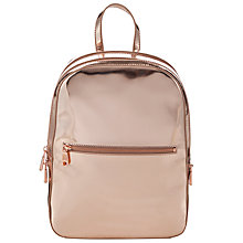 Buy DKNY Fashion Mirror Backpack, Blush Online at johnlewis.com
