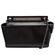 Buy DKNY Greenwich Shoulder Bag, Black Online at johnlewis.com