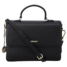 Buy DKNY Tribeca Top Handle Shoulder Bag, Black Online at johnlewis.com