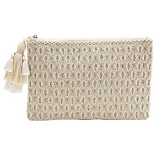 Buy COLLECTION by John Lewis Ava Embellished Pouch Online at johnlewis.com