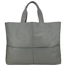Buy Kin by John Lewis Bronte Oversized Tote Bag, Grey Online at johnlewis.com