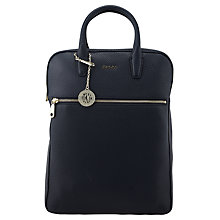 Buy DKNY Tribeca Leather Backpack Online at johnlewis.com