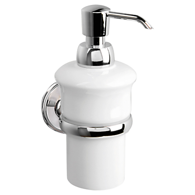 Miller Stockholm Ceramic Soap Pump and Holder