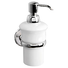 Buy Miller Stockholm Ceramic Soap Pump and Holder Online at johnlewis.com