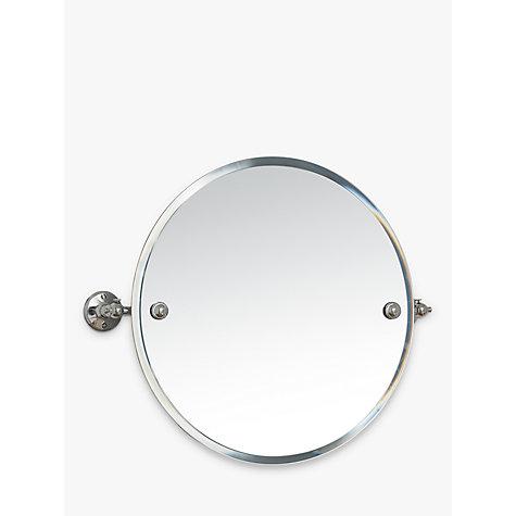 Buy miller stockholm bathroom swivel mirror john lewis for Oval swivel bathroom mirror