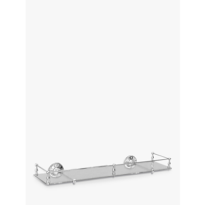 Miller Stockholm Glass Shelf with Rail