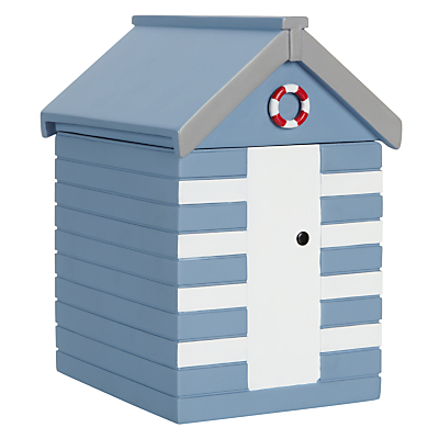 John Lewis Beach Huts Wooden Storage Box