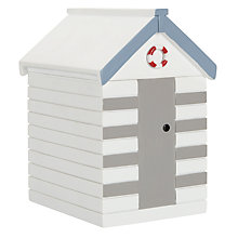Buy John Lewis Beach Huts Wooden Storage Box Online at johnlewis.com