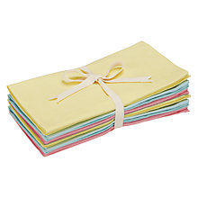 Buy John Lewis Sorbet Napkins, Set of 6, Multi Online at johnlewis.com