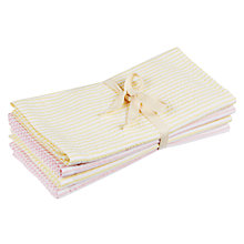 Buy John Lewis Seersucker Napkins, Set of 4 Online at johnlewis.com