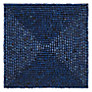 John Lewis Al Fresco Wood Bead Mat, Blue