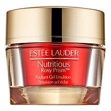 Buy Estée Lauder Nutritious Rosy Prism™ Radiant Gel Emulsion Online at johnlewis.com