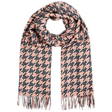 Buy Hobbs London Dogtooth Scarf Online at johnlewis.com