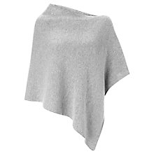 Buy Jigsaw Knitted Asymmetric Poncho Online at johnlewis.com