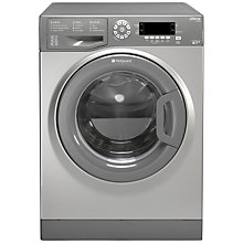Buy Hotpoint SWMD9637G Freestanding Washing Machine, 9kg Load, A+++ Energy Rating, 1600rpm Spin, Graphite Online at johnlewis.com