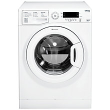 Buy Hotpoint SWMD8237 Freestanding Washing Machine, 8kg Load, A+++ Energy Rating, 1200rpm Spin, White Online at johnlewis.com