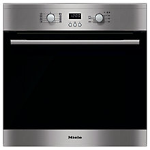 Buy Miele H2161B ContourLine Single Electric Oven, Clean Steel Online at johnlewis.com