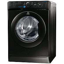 Buy Indesit XWD71452XK Freestanding Washing Machine, 7kg Load, A++ Energy Rating, 1400rpm Spin, Black Online at johnlewis.com