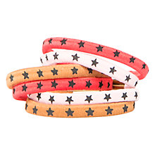 Buy Mango Kids Star Hair Tie, Pack of 6 Online at johnlewis.com