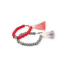 Buy Mango Kids Girls' Tassel Bracelets, Set of 2 Online at johnlewis.com