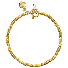 Buy Dower & Hall Caraway 18ct Gold Vermeil Rice Bracelet Online at johnlewis.com