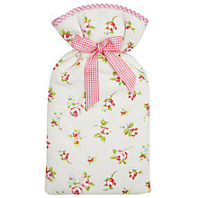 Buy John Lewis Rosebud Hot Water Bottle, 2 Litre Online at johnlewis.com