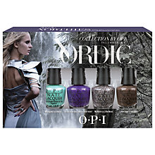Buy OPI Nails - Nail Lacquer - Nordic Collection Mini Pack Gift Set Online at johnlewis.com