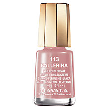 Buy MAVALA Nail Polish Nudes Collection, 5ml Online at johnlewis.com