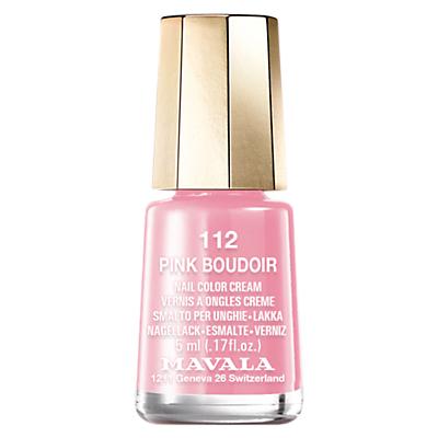 shop for MAVALA Nail Polish, Pink Boudoir 112, 5ml at Shopo