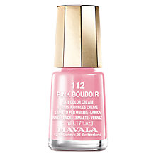 Buy MAVALA Nail Polish, Pink Boudoir 112, 5ml Online at johnlewis.com