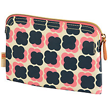 Buy Orla Kiely Cosmentic Bag, Navy/Pink Online at johnlewis.com