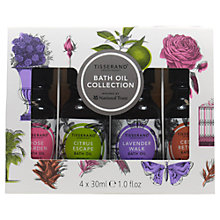 Buy Tisserand Mini Bath Oil Collection, 4 x 25ml Online at johnlewis.com