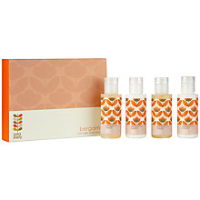 Buy Orla Kiely Mini Bergamot Bath and Hand Set, 5 x 50ml Online at johnlewis.com